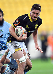Wellington's Will Mangos against Northland in the Mitre 10 Rugby match at Westpac Stadium, Wellington, New Zealand, Thursday, October 12 2017. Credit:SNPA / Ross Setford  **NO ARCHIVING**