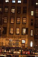 New York  parking on 17  street area  New York, Manhattan - /Parking auto sur la 17em rue