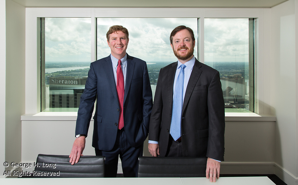 Lance McCardle and Jason Burge, attorneys at Fishman Haygood in New Orleans