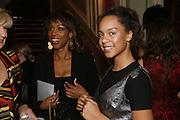 Trisha  and Madi Goddard, Dirty Dancing ,premiere: Aldwych Theatre, 49 Aldwych, London, WC2,24 October 2006. -DO NOT ARCHIVE-© Copyright Photograph by Dafydd Jones 66 Stockwell Park Rd. London SW9 0DA Tel 020 7733 0108 www.dafjones.com