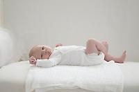 Two week old newborn baby