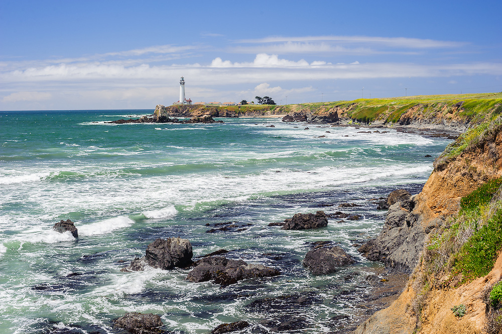 Pigeon Point Lighthouse is the tallest lighthouse on the West Coast of the United States, Pescadero, CA