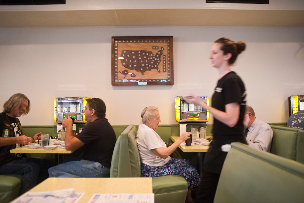 New Market, VA - Inside the Southern Inn, in New Market, Va, home of Endless Caverns. The restaurant features traditional American fare and is heavily influenced by a not to distant past.