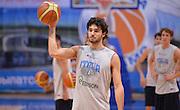 DESCRIZIONE : Qualificazioni EuroBasket 2015 - Allenamento <br /> GIOCATORE : Michele Vitali<br /> CATEGORIA : nazionale maschile senior A <br /> GARA : Qualificazioni EuroBasket 2015 viaggio - Allenamento<br /> DATA : 11/08/2014 <br /> AUTORE : Agenzia Ciamillo-Castoria