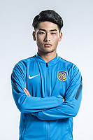 **EXCLUSIVE**Portrait of Chinese soccer player Gao Dalun of Jiangsu Suning F.C. for the 2018 Chinese Football Association Super League, in Nanjing city, east China's Jiangsu province, 23 February 2018.