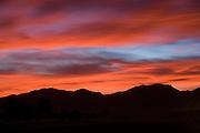 Red Desert Sunset