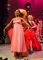 """© Licensed to London News Pictures. 1212/2011. London. UK. Ayesha Antoine as Cinderella (at front). The Panto """"Cinderella""""  opens at the Theatre Royal Stratford East, London. Photo credit: Bettina Strenske/LNP"""