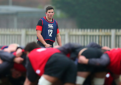 Will Butler of England Under 20s - Mandatory by-line: Robbie Stephenson/JMP - 09/01/2018 - RUGBY - England U20 - Training session ahead of Six Nations