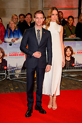 Luke Treadaway and Ruta Gedmintas arriving at the World Premiere of A Street Cat Named Bob at the Curzon Mayfair on November 3 2016 in London. EXPA Pictures © 2016, PhotoCredit: EXPA/ Avalon/ Famous<br /> <br /> *****ATTENTION - for AUT, SLO, CRO, SRB, BIH, MAZ, SUI only*****