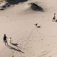Parque Municipal das Dunas da Lagoa da Conceição, Trilha para Joaquina pelas dunas, Florianópolis, Santa Catarina - foto de Ze Paiva - Vista Imagens