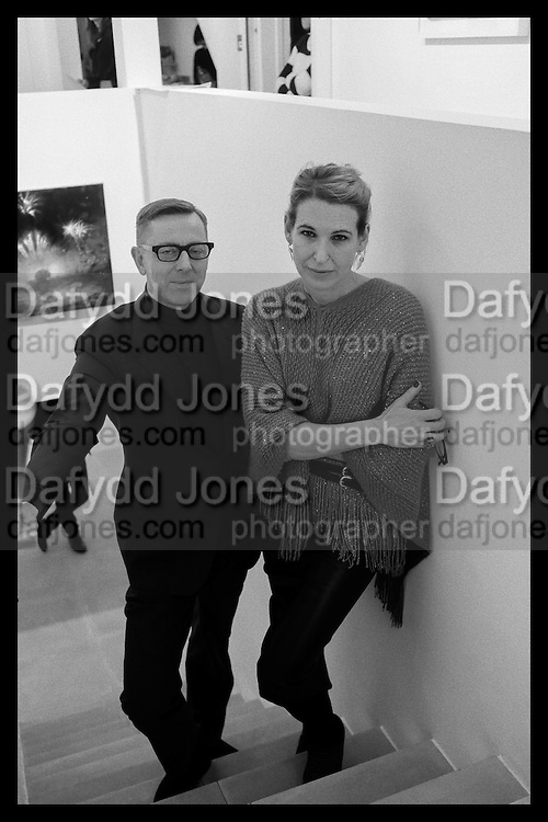 DAVID HILL; SERENA MORTON, Behind the Silence. private view  an exhibition of work by Paul Benney and Simon Edmondson. Serena Morton's Gallery, Ladbroke Grove, W10.  4 November 2015.