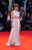 Micaela Ramazzotti at the premiere of the film The Leisure Seeker (Ella & John) at the 74th Venice Film Festival, Sala Grande on Sunday 3 September 2017, Venice Lido, Italy.