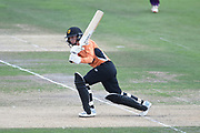 Fi Morris of Southern Vipers batting during the Kia Women's Cricket Super League semi-final match between Loughborough Lightning and Southern Vipers at the 1st Central County Ground, Hove, United Kingdom on 1 September 2019.
