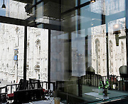 Milan, the '900 museum overlooking Piazza del Duomo. The Museo del Novecento (Museum of the Twentieth Century), located in the Palazzo dell'Arengario, is a public venue dedicated to the exhibition the display of Milan's collection of Twentieth-Century Art..A portion of this collection is displaied at the Casa Museo Boschi Di Stefano (Boschi Di Stefano House Museum), where some of the works donated by the Milanese collectors Antonio Boschi and Marieda Di Stefano are on exhibition.