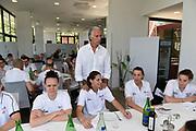 Giovanni Malago in visita alla Nazionale Italiana Femminile Senior<br /> FIP 2017<br /> Roma, 22/05/2017<br /> Foto Ciamillo-Castoria / G. Ciamillo