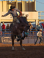 Saddle Bronc riding, Kayenta 4th of July Rodeo, Kayenta, Arizona