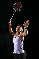 Liz Cann England Badminton, World Championships Photoshoot, NBC, Milton Keynes, England, 2011