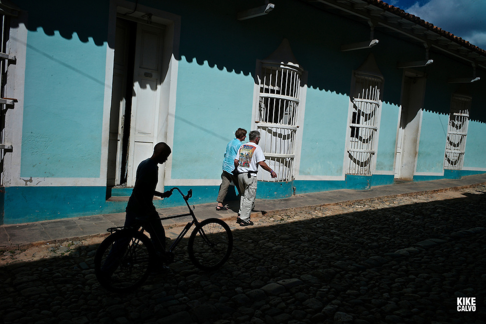 Colorful images in the colonial town of Trinidad, a UNESCO World Heritage Site