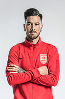 **EXCLUSIVE**Portrait of Spanish-born Taiwanese soccer player Yaki Yen of Changchun Yatai F.C. for the 2018 Chinese Football Association Super League, in Wuhan city, central China's Hubei province, 22 February 2018.