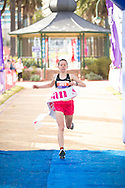 Tarli Bird Wins The 10km Race. 2012 Sussan Women's Fun Run. St Kilda, Victoria, Australia. 02/12/2012. Photo By Lucas Wroe