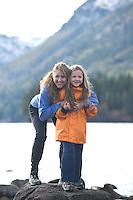 Fallen Leaf Lake. Lake Tahoe, CA