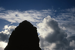 Rock Formation Against The Sky