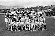 12/05/1968<br /> 05/12/1968<br /> 12 May 1968<br /> National Hurling League Home Final: Tipperary v Kilkenny at Croke Park, Dublin.<br /> The Kilkenny team.
