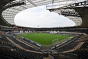 Hull City KC Stadium before the Sky Bet Championship play off 2nd leg match between Hull City and Derby County at the KC Stadium, Kingston upon Hull, England on 17 May 2016. Photo by Ian Lyall.