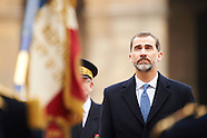 032415 Spanish Royals visit France - Day 1
