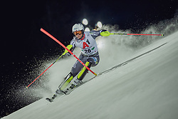"29.01.2019, Planai, Schladming, AUT, FIS Weltcup Ski Alpin, Slalom, Herren, 1. Lauf, im Bild Jonathan Nordbotten (NOR) // Jonathan Nordbotten of Norway in action during his 1st run of men's Slalom ""the Nightrace"" of FIS ski alpine world cup at the Planai in Schladming, Austria on 2019/01/29. EXPA Pictures © 2019, PhotoCredit: EXPA/ Dominik Angerer"