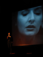 Marina Abramović talk at 11th Havana Biennial in 2012.