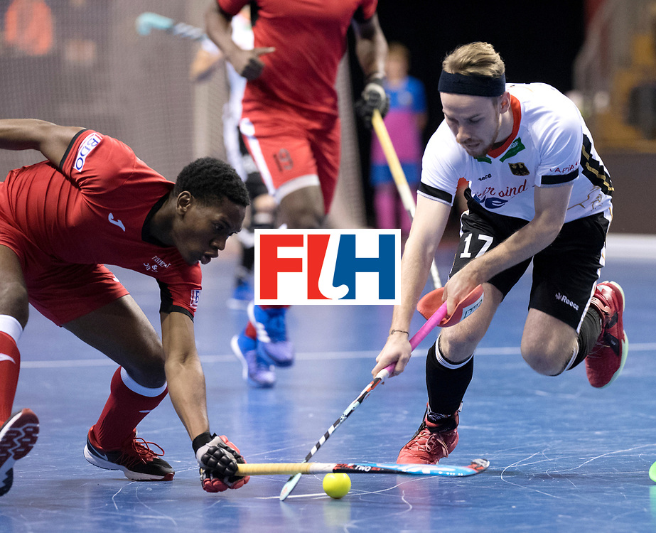 BERLIN - Indoor Hockey World Cup<br /> Men: Germany -  Trinidad &amp; Tobago<br /> foto: EMMANUEL Kristien and Christopher R&uuml;hr.<br /> WORLDSPORTPICS COPYRIGHT FRANK UIJLENBROEK