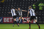 Notts County Ryan Yates (22) celebrates after scoring a goal to make it 2-2 during the The FA Cup match between Notts County and Bristol Rovers at Meadow Lane, Nottingham, England on 3 November 2017. Photo by Jon Hobley.