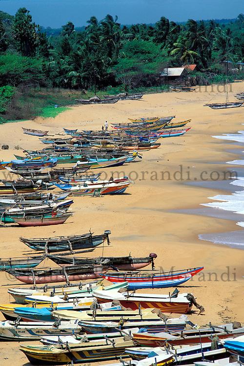 Sri Lanka, Hambantota, Plage