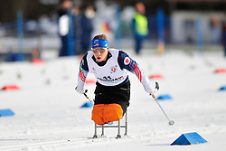 MASTERS Oksana, USA at the 2014 IPC Nordic Skiing World Cup Finals - Middle Distance