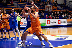 Djoko Salic of KK Helios Suns during basketball match between KK Helios Suns and KK Rogaska in ABA League Second division, on October 31, 2018 in Sports hall Domzale, Domzale, Slovenia. Photo by Urban Urbanc / Sportida