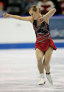 London, Ontario ---10-01-15---Joannie Rochette competes in the women's short program at the 2010 BMO Canadian Figure Skating Championships in London, Ontario, January 15, 2010. .GEOFF ROBINS/Mundo Sport Images..