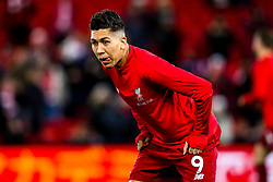 Roberto Firmino of Liverpool - Mandatory by-line: Robbie Stephenson/JMP - 30/01/2019 - FOOTBALL - Anfield - Liverpool, England - Liverpool v Leicester City - Premier League