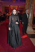 TALLULAH HARLECH, Hollywood Costume gala dinner, V and A. London. 16 October 2012