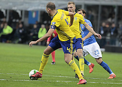 November 13, 2017 - Milan, Italy - Andreas Granqvist during the playoff match for qualifying for the Football World Cup 2018  between Italia v Svezia, in Milan, on November 13, 2017. (Credit Image: © Loris Roselli/NurPhoto via ZUMA Press)