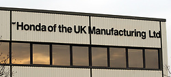 File photo dated 30/01/09 of the Swindon Honda Factory, which according to unconfirmed reports is planning to close its plant in Swindon in three years time.