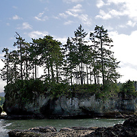 Tidal pools along Crescent Beach on the North Olympic Peninsula and the Salish Sea.