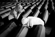 Two daughters mourn their father killed in the Srebrenica massacre.