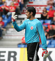 Fussball International Laenderspiel Schweiz - Venezuela Pascal ZUBERBUEHLER (SUI)