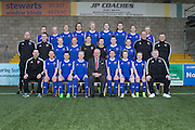 Forfar Farmington squad for 2016 pictured at Station Park<br /> <br /> Back row: Julia Scott, Alana Bruce, Megan McCarthy, Gemma Collier, Stephanie Milne, Kayleigh Noble, Tori Sousa, Shaylen Anderson.<br /> Middle row: Mark Nisbet (Head Coach), Ewan Greenhill (Head of Sport Science and Medicine), Joanna Collier, Kirsty Deans, Fiona McNicoll, Hannah Dryden, Jade McLaren, Louise Magilton, Kevin Candy (Goalkeeping Coach), Scott Knox (Goalkeeping Coach)<br /> Front row: Bryan Middleton (Performance Analyst), Sophie Milligan, Amy Gallacher, Holly Napier, Nicola Davidson (captain), Colin Brown (president), Robyn Smith, Lindsey Dunbar, Derrian Gollan, Lee Smith (Media Officer)<br /> <br />  - &copy; David Young - www.davidyoungphoto.co.uk - email: davidyoungphoto@gmail.com