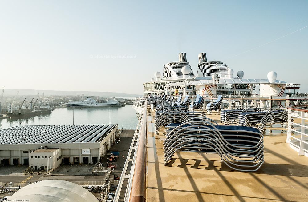 Royal Caribbean, Harmony of the Seas, at the port