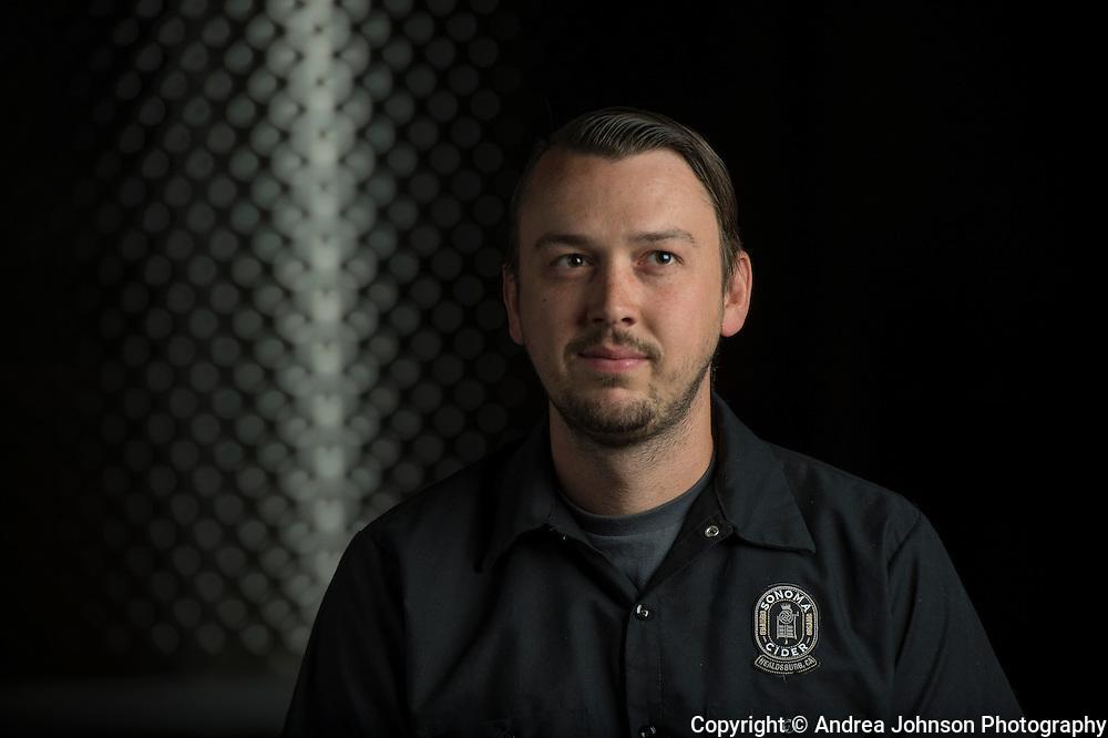 Robert Cordtz (VP Operations & Founder), Sonoma Cider, Healdsburg, California