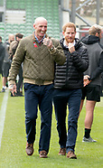 The Duke of Sussex and Gareth Thomas at the Terrence Higgins Trust