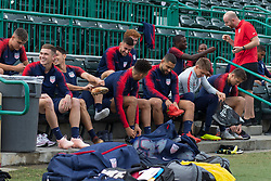October 9, 2018 - Tampa, FL, USA - Tampa, FL - Tuesday October 9, 2018: The USMNT train in preparation for their match versus Colombia. (Credit Image: © John Dorton/ISIPhotos via ZUMA Wire)