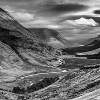 Glen Etive from Dalness